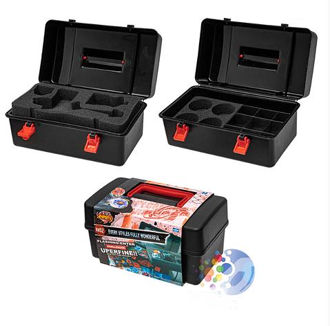 Кейс-бокс для Бейблэйдов Beyblade Box Case Flame, фото 2