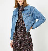 Куртка джинсовая / Пиджак джинсовый короткий свободный Турция 57079