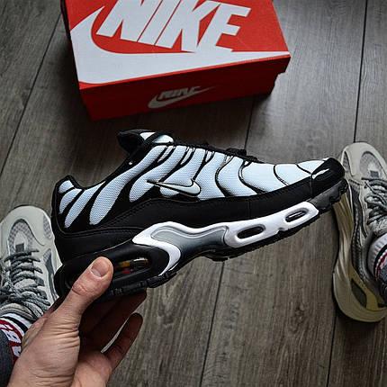 """Кроссовки Nike Air Max TN Plus """"Черные\Белые"""", фото 2"""