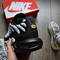 """Кроссовки Nike Air Max TN Plus """"Черные\Белые"""", фото 3"""