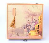 """Шу Пуэр """"7572"""" (Блин) 2014 г. 357 гр. Фабрика  (Менгхай) Подарочная коробка, фото 2"""