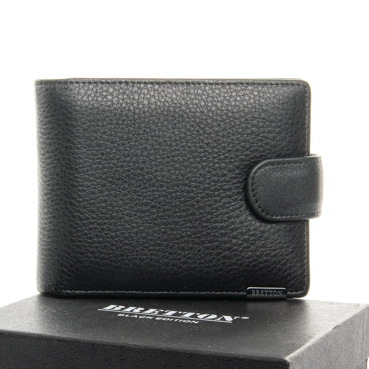 Чоловічий гаманець BE Чоловічий BRETTON 163-9 чорний