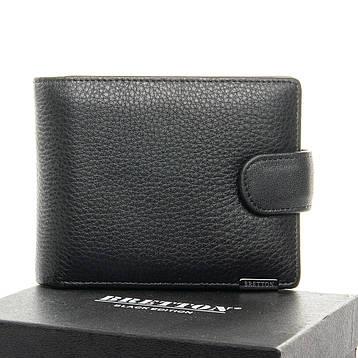 Чоловічий гаманець BE Чоловічий BRETTON 163-9 чорний, фото 2
