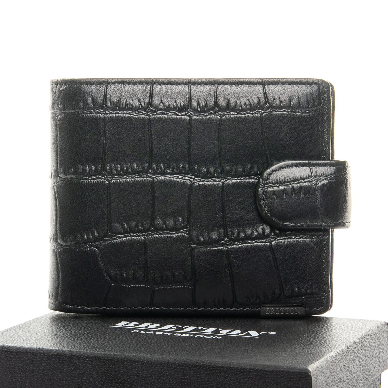 Чоловічий гаманець BE Чоловічий BRETTON 208-Y107 чорний