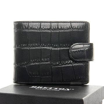 Мужской кошелек BE Мужской BRETTON 208-Y107 черный, фото 2