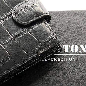 Чоловічий гаманець BE Чоловічий BRETTON 208-Y107 чорний, фото 2