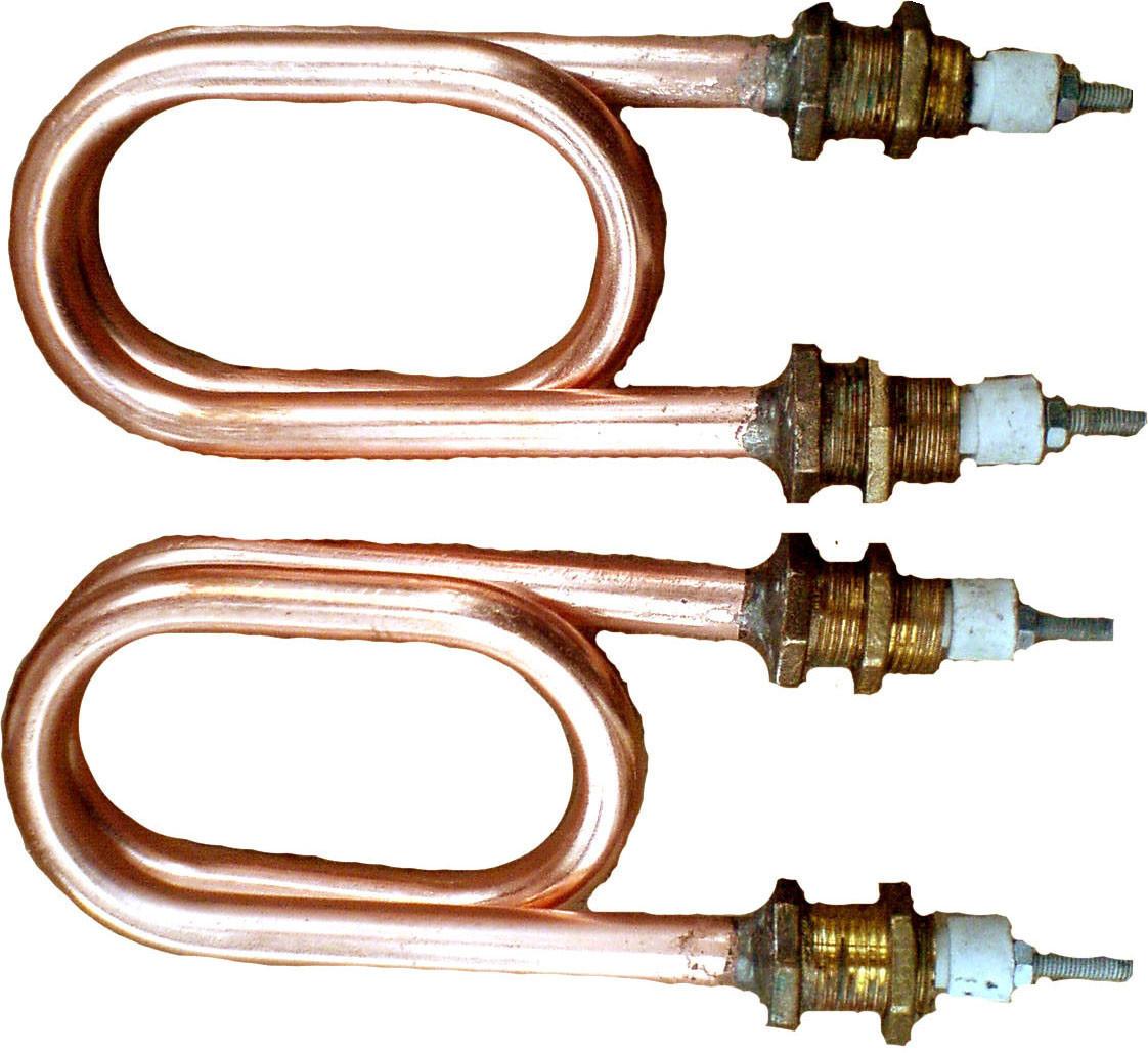ТЭН для дистиллятора 2,5 КВТ Медь(Скрепка)