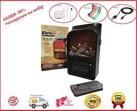 Портативний обігрівач з LCD дисплеєм FLAME HEATER 500Вт