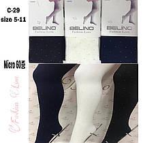 Колготки капроновые фантазийные для девочек р.3-4 года (98-104 см) Belino 5789613730006