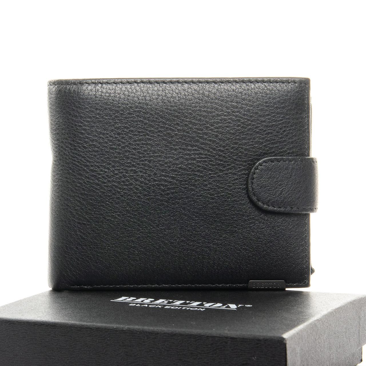 Чоловічий гаманець BE Чоловічий BRETTON 208-3204 чорний