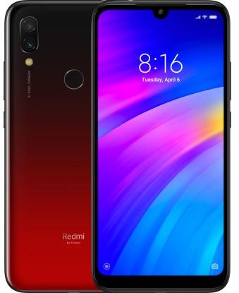 "Смартфон Xiaomi Redmi 7 Red 4/64Gb, 12+2/8Мп, Snapdragon 632, 2sim, 6.26"" IPS, 4000mAh, 8 ядер"