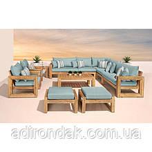 Набор садовой мебели Bliss Blue