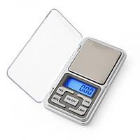 Ваги кишенькові ювелірні MS-1724B Domotec 200г точність 0,01 г, фото 1