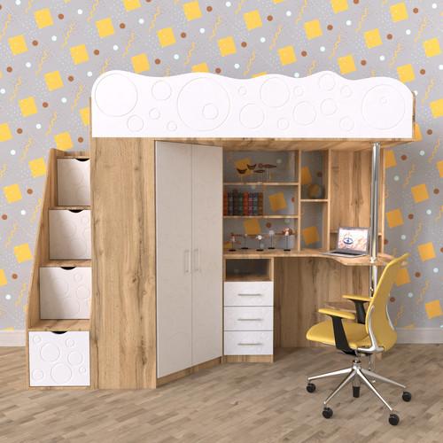 Дитяче ліжко горище ДМ 826 В НАЯВНОСТІ