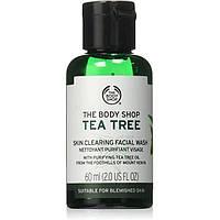 Гель для умывания The Body Shop Tea Tree Skin Clearing Facial Wash Чайное дерево, 60 мл.