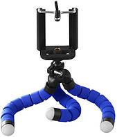Штатив настольный XoKo с держателем для телефона/GoPro/фотоаппарата Octopus SS-001 Blue