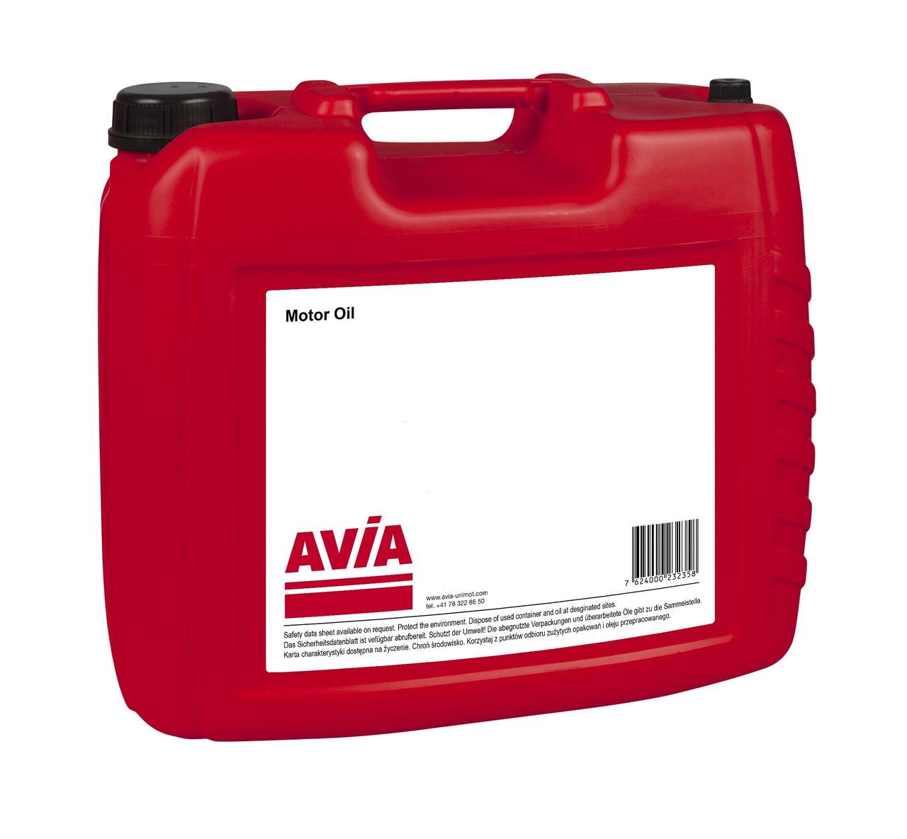 Масло AVIA TURBOSYNTH Extra HD01 5W30 CJ-4 Plus 20л