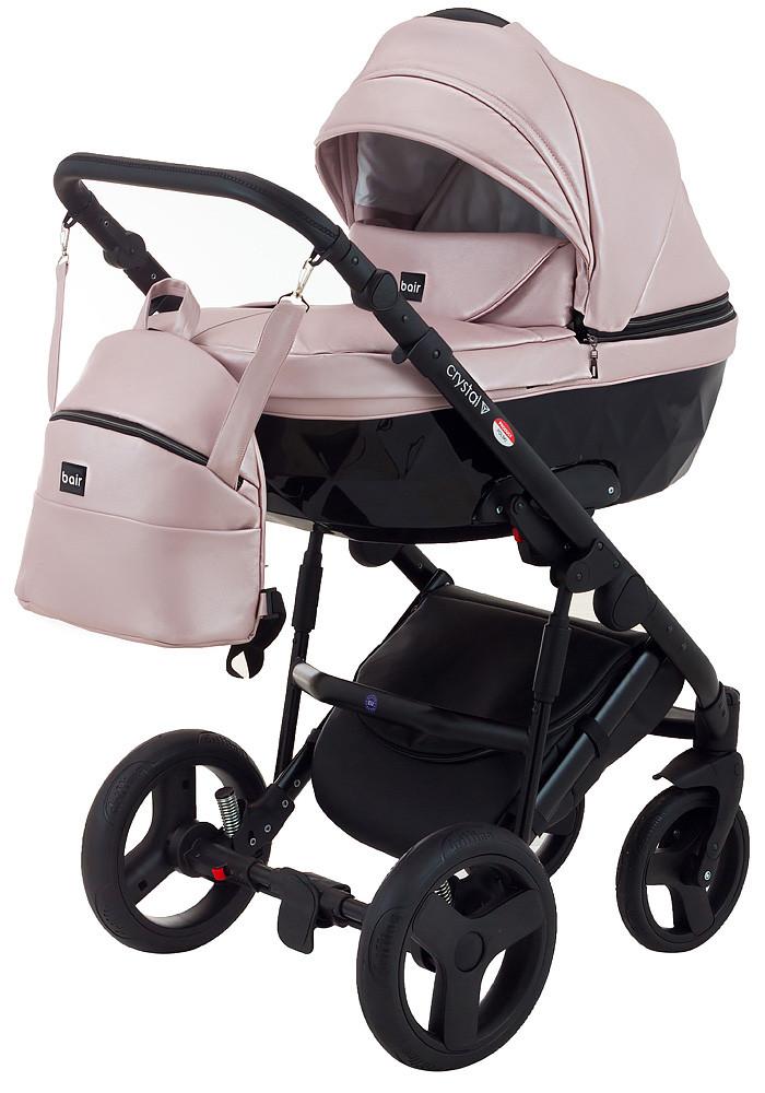 Универсальная детская коляска 2 в 1  BAIR CRYSTAL