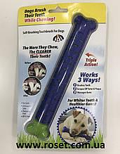 Самоочисна зубна щітка для собак Сhewbrush