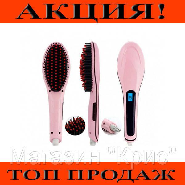 Расческа для выравнивания волос Fast Hair Straightener HQT-906!Хит цена