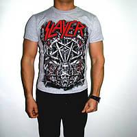 Футболка Slayer Pentagram Gray, фото 1