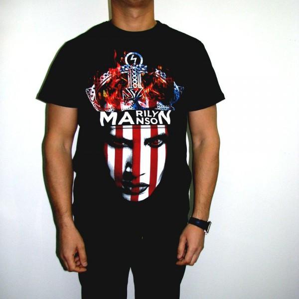 Футболка Marilyn Manson Corona