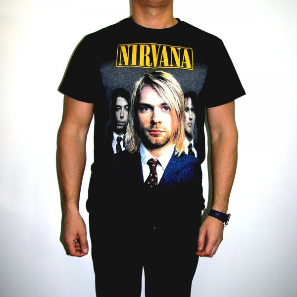 Футболка Nirvana Group
