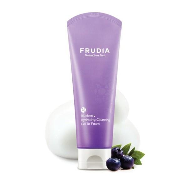 Пенка для умывания Frudia Blueberry Hydrating Cleansing Gel To Foam, 145 мл