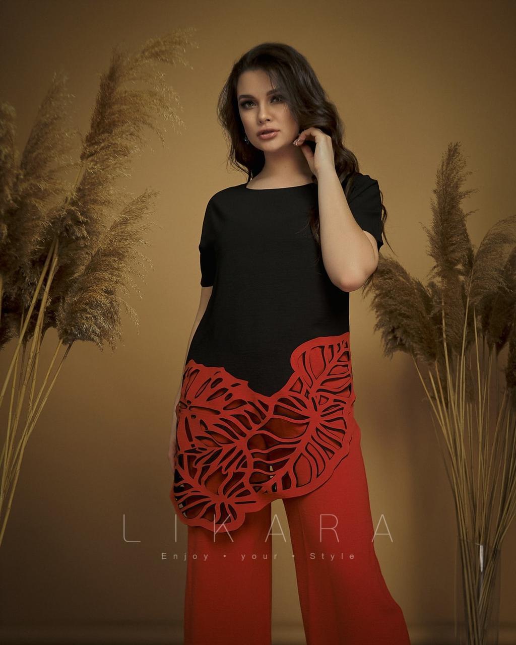 Костюм женский брюки + блуза