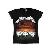 Женская футболка Metallica Master Of Puppets