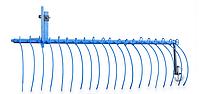 Грабли для мотоблока (2м) грабли для сена уборка сена