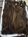 Слов'янські волосся в зрізі 40 див. Незабарвлені темні, фото 5