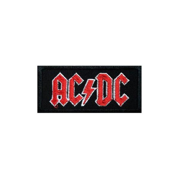Нашивка вышитая AC DC Logo