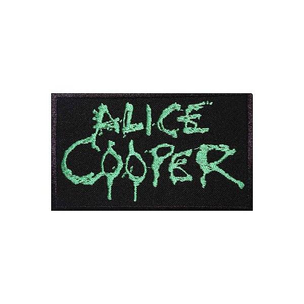 Нашивка вышитая Alice Cooper