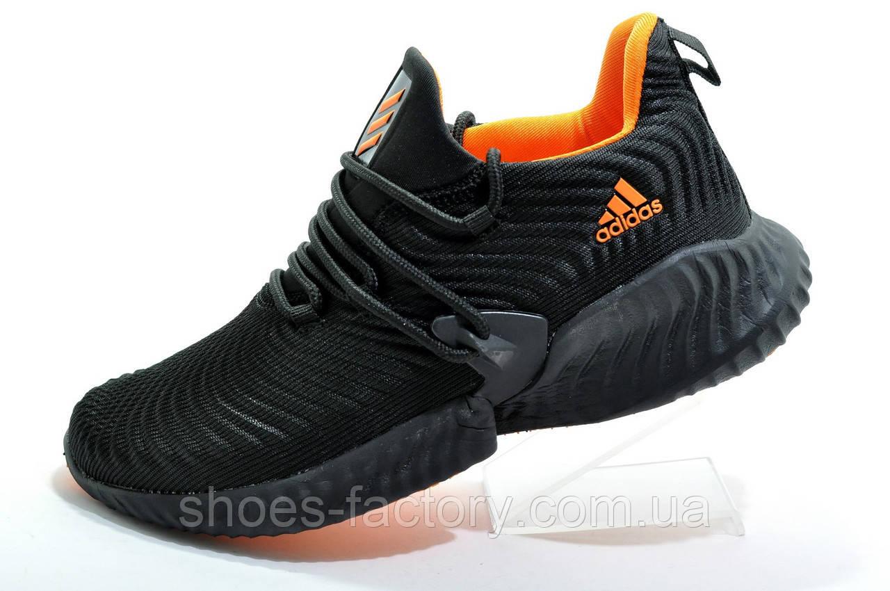 Мужские кроссовки в стиле Adidas Originals Alphabounce Instinct, Black\Orange