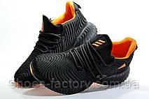 Мужские кроссовки в стиле Adidas Originals Alphabounce Instinct, Black\Orange, фото 2