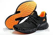 Мужские кроссовки в стиле Adidas Originals Alphabounce Instinct, Black\Orange, фото 3