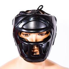 Шлем Venum, маска, размер M, черный.VM-5010MBL