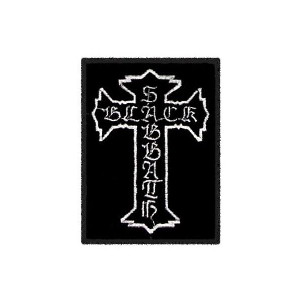 Нашивка вышитая Black Sabbath крест