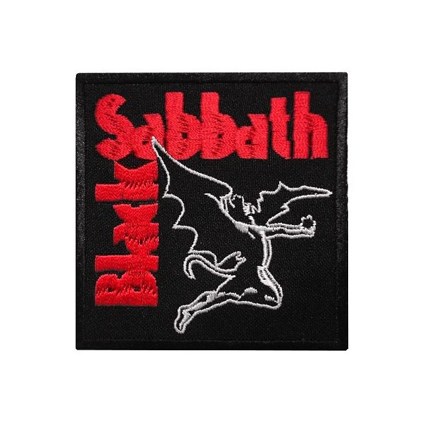 Нашивка вышитая Black Sabbath Red Logo