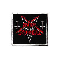 Нашивка вышитая Dark Funeral