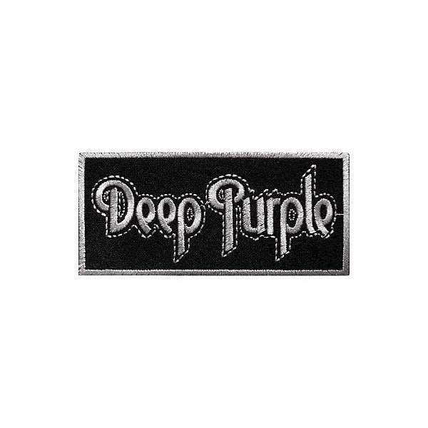 Нашивка вышитая Deep Purple