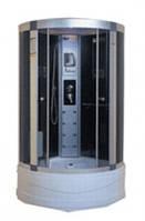 Гидробокс MIRACLE 90х90х41, тонированное стекло, глубокий поддон, F6-5 Rz