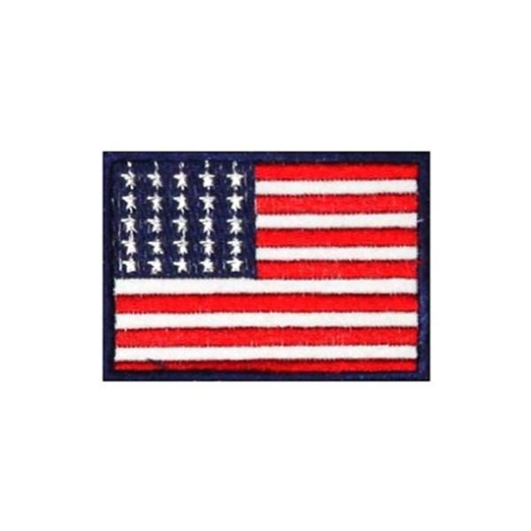 Нашивка вышитая Флаг США