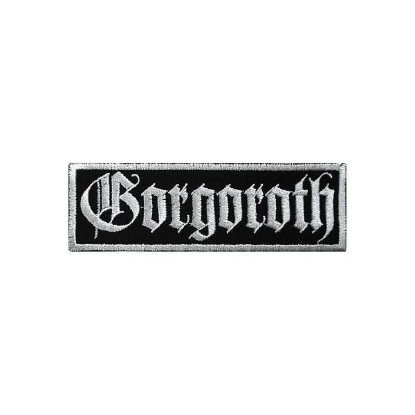 Нашивка вышитая Gorgoroth