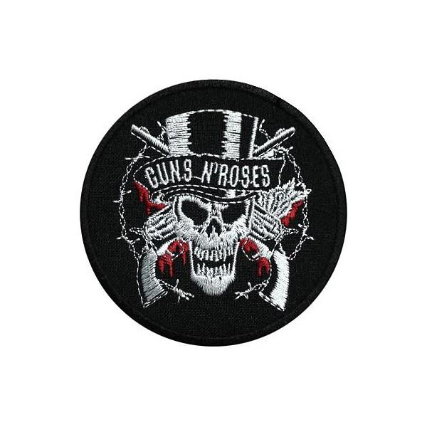 Нашивка вышитая Guns N Roses