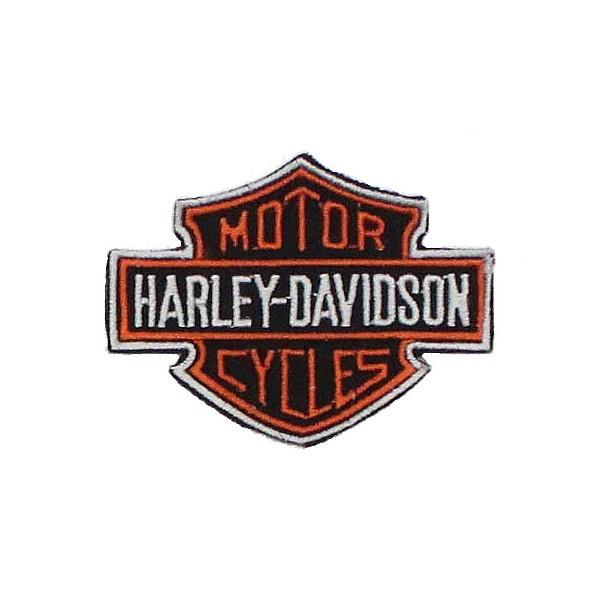 Нашивка вышитая Harley Davidson эмблема