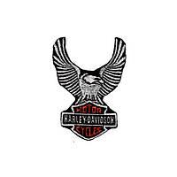 Нашивка вышитая Harley Davidson орёл малый