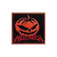 Нашивка вышитая Helloween