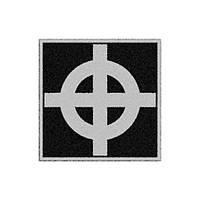 Нашивка вышитая Кельтский крест